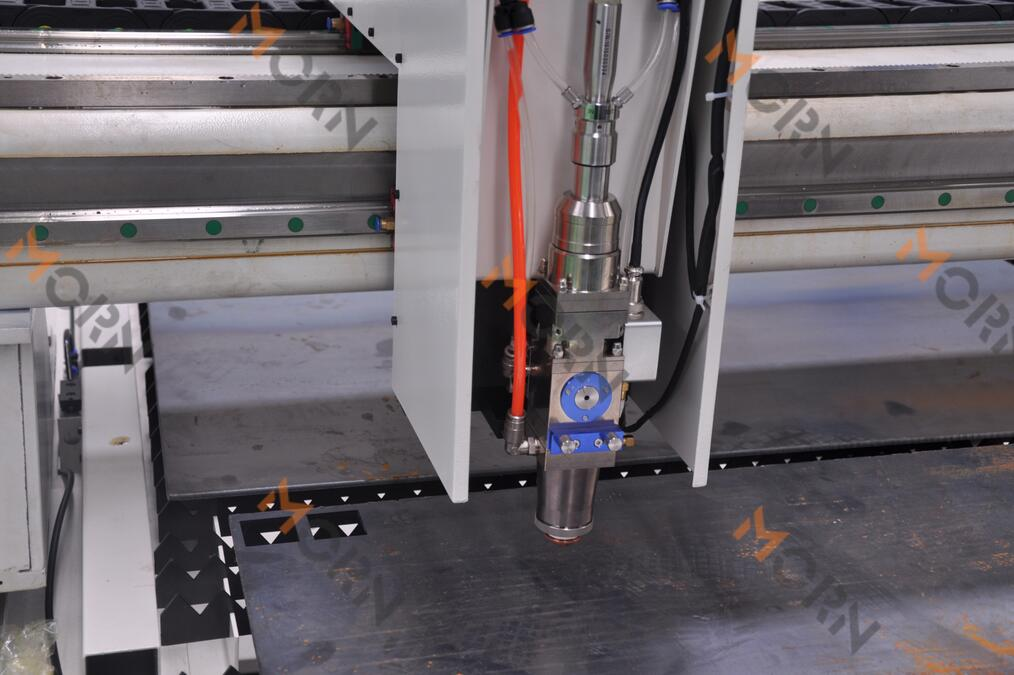 high precision of fiber laser cutting
