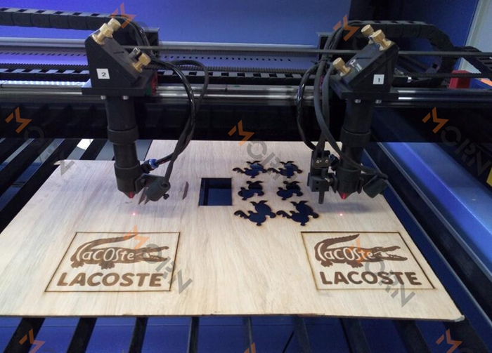 CO2 laser cutting machine for wood