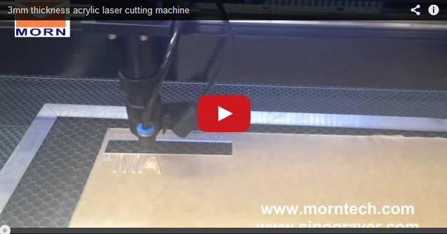 3mm thickness acrylic laser cutting machine