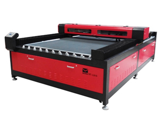 Fabric carpet laser cutting machine for car mat