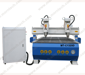 Double heads wood cnc router machine MT-C1325D