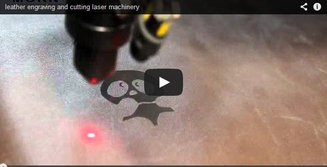 leather laser engraving cutting machine