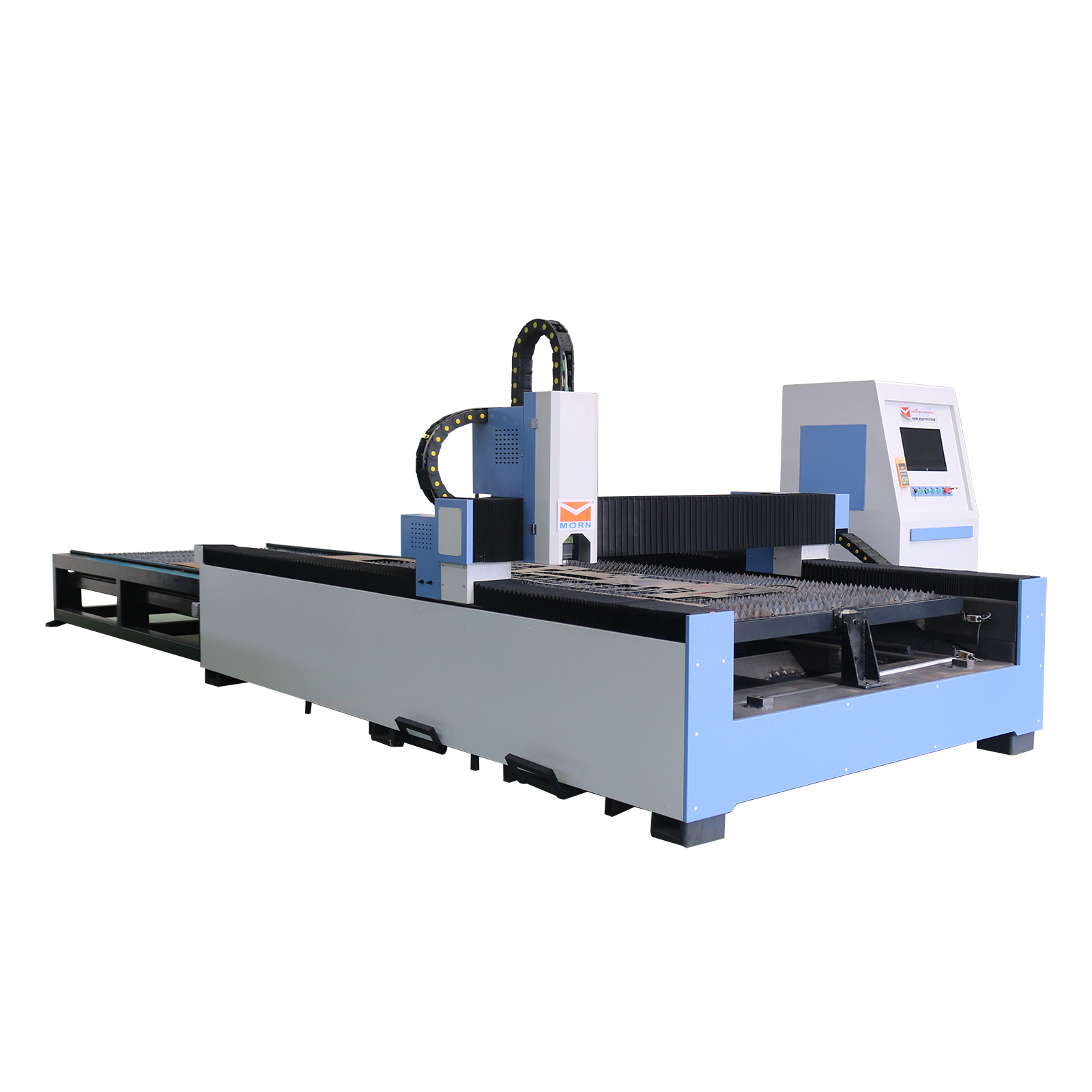 MT-L1530FE Fiber Laser Cutting Machine With Exchange Table