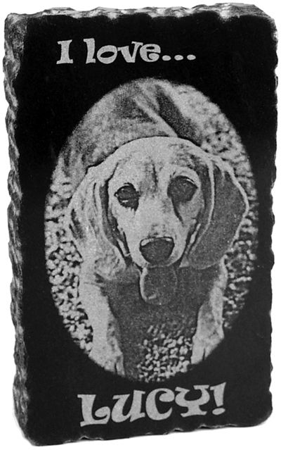dog engraving