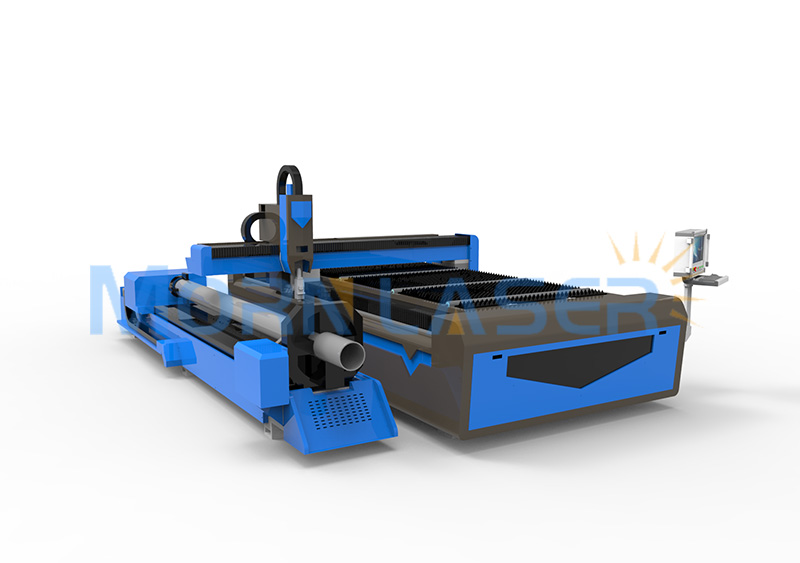 fiber laser cutting machine for steel pipes and plates