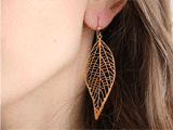 Laser cut Metal Jewelry Builds the Fashion of this Fall