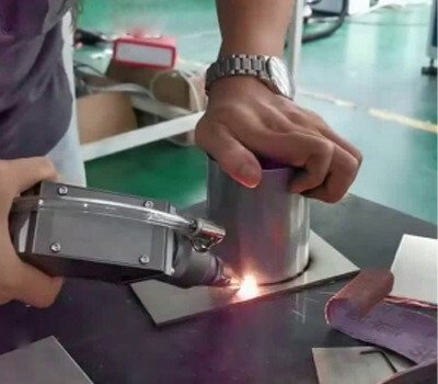 handheld fiber laser welding machine for stainless steel tube