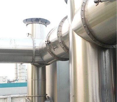 stainless steel air duct chimmney pipe spiral air duct